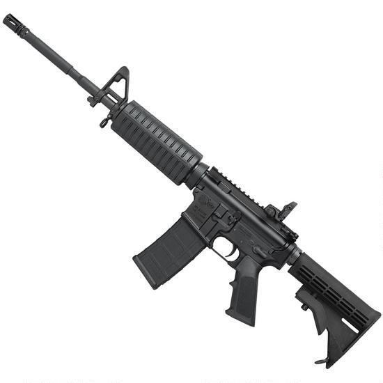 Colt 6920 AR-15 Semi Auto Rifle 5.56 NATO 16″ M4 Barrel 30 Rounds M4 Stock Black LE6920