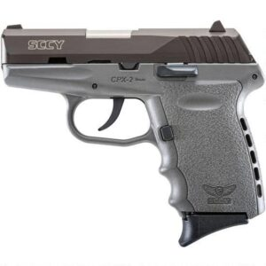 SCCY CPX-2 9mm Luger 3.1″ 10rds No Safety Gray/Black