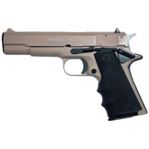 Chiappa 1911-22 Semi Auto Pistol .22 LR 5″ Barrel 10 Rounds Alloy Frame Rubber Grips Tan