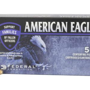 Federal 40 S&W 180 gr FMJ American Eagle C.O.P.S 50/Box