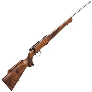 Anschutz 1712 AV Silhouette Bolt Action Rimfire Rifle .22 LR 18″ Threaded Barrel 5 Rounds Two Stage Trigger Walnut Stock Stainless Finish