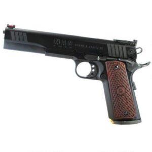 Metro Arms 1911 Bullseye Semi Auto Handgun .45 ACP 6″ Barrel 8 Rounds Blue Finish Hardwood Grips M19BE45B