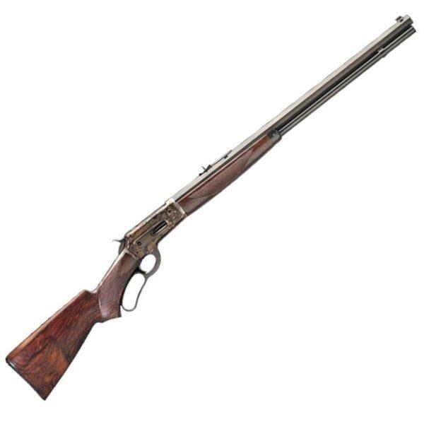 Pedersoli Model 1886 Far West Lever Action Rifle .45-70 Govt 26″ Octagonal Barrel 5 Rounds Color Case Hardened Receiver Walnut Stock Blued S.738-457