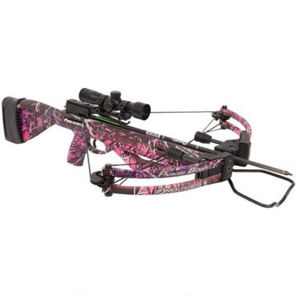 Parker Bows Ambusher Crossbow Kit 315fps Muddy Girl Pink