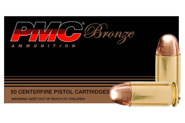 PMC 9mm Luger 115 gr FMJ Bronze 50/Box