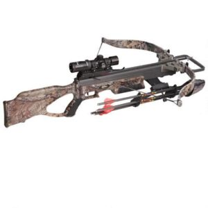 Excalibur Matrix 355 Crossbow Compact Recurve 2-4×32 Tact-Zone Scope Package Realtree Xtra 3500