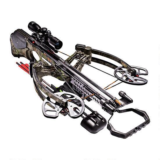 Barnett Buck Commander Revengeance Crossbow Package 400fps with 4x32mm Scope Realtree APG