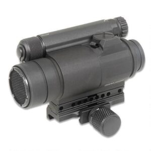Aimpoint COMPM4 Red Dot Sight 2 MOA Dot 30mm Tube 1X Magnification Matte Black QRP2 Mount 11972