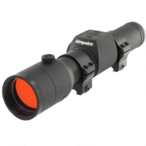 Aimpoint H34L Hunter Series Red Dot Sight 34mm Tube 2 MOA Dot Matte Black with Rings 12693