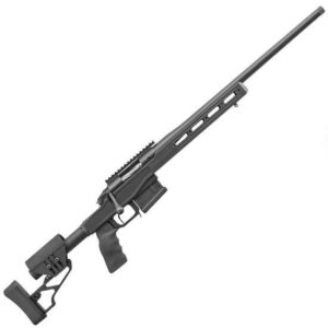 Bergara Premier LRP Bolt Action Rifle 6.5 Creedmoor 24″ Barrel 5 Rounds Detachable Box Magazine Aluminum Chassis 20 MOA Picatinny Rail Timney Trigger XLR Element Stock Matte Black