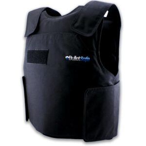 BulletSafe NIJ Level IIIA Black Bullet Proof Vest