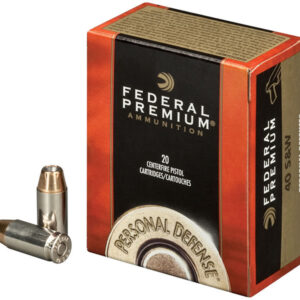 Federal 40 SW 180 gr Hydra-Shok JHP Personal Defense 20/Box