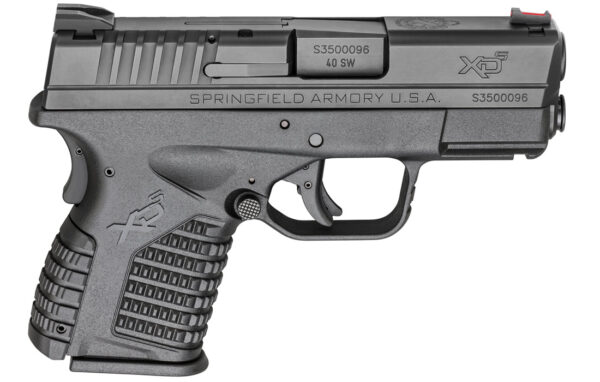 Springfield XDS 3.3 Single Stack 40 S&W Black Essentials Package