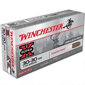 Winchester Super X .30-30 Win Ammunition 200 Rounds, PP, 170 Grains