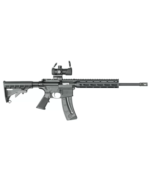 Smith & Wesson M&P 15-22 Sport OR Rimfire Rifle with Reflex Sight – 25 Round Capacity